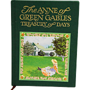 The Anne of Green Gables Treasury of Days by Carolyn Strom Collins 1st Edition
