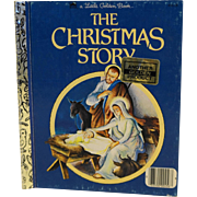 The Christmas Story Little Golden Book 1980