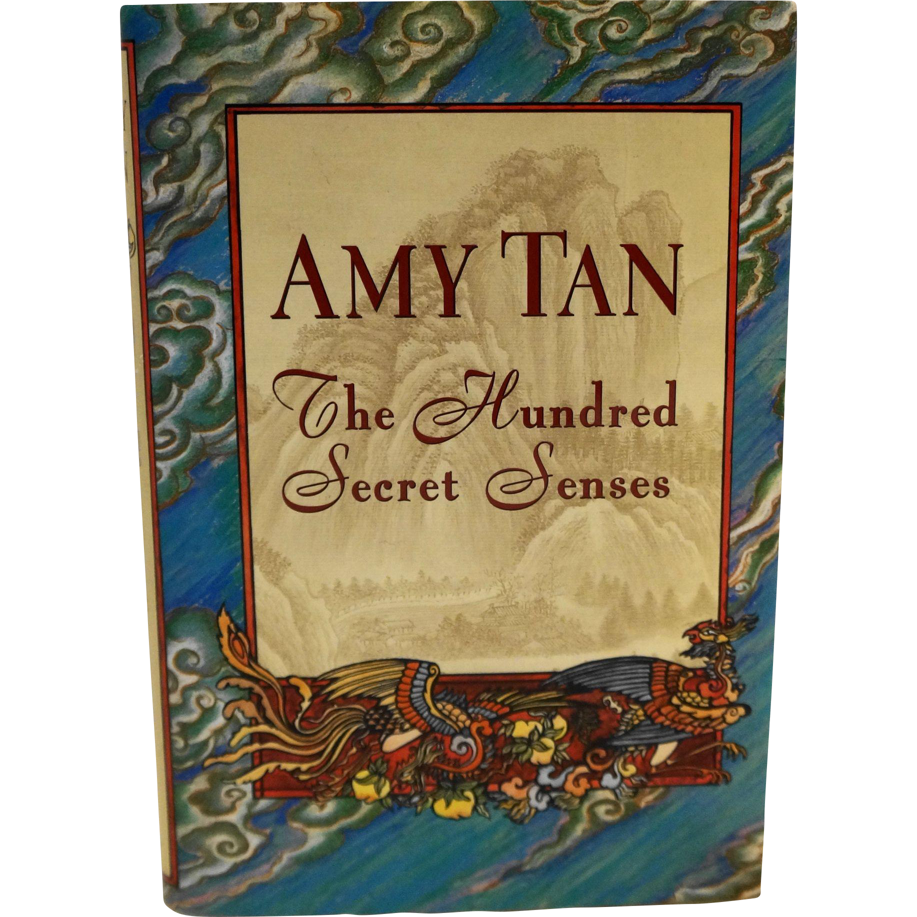 The Hundred Secret Senses Amy Tan Hardcover First Edition 1995