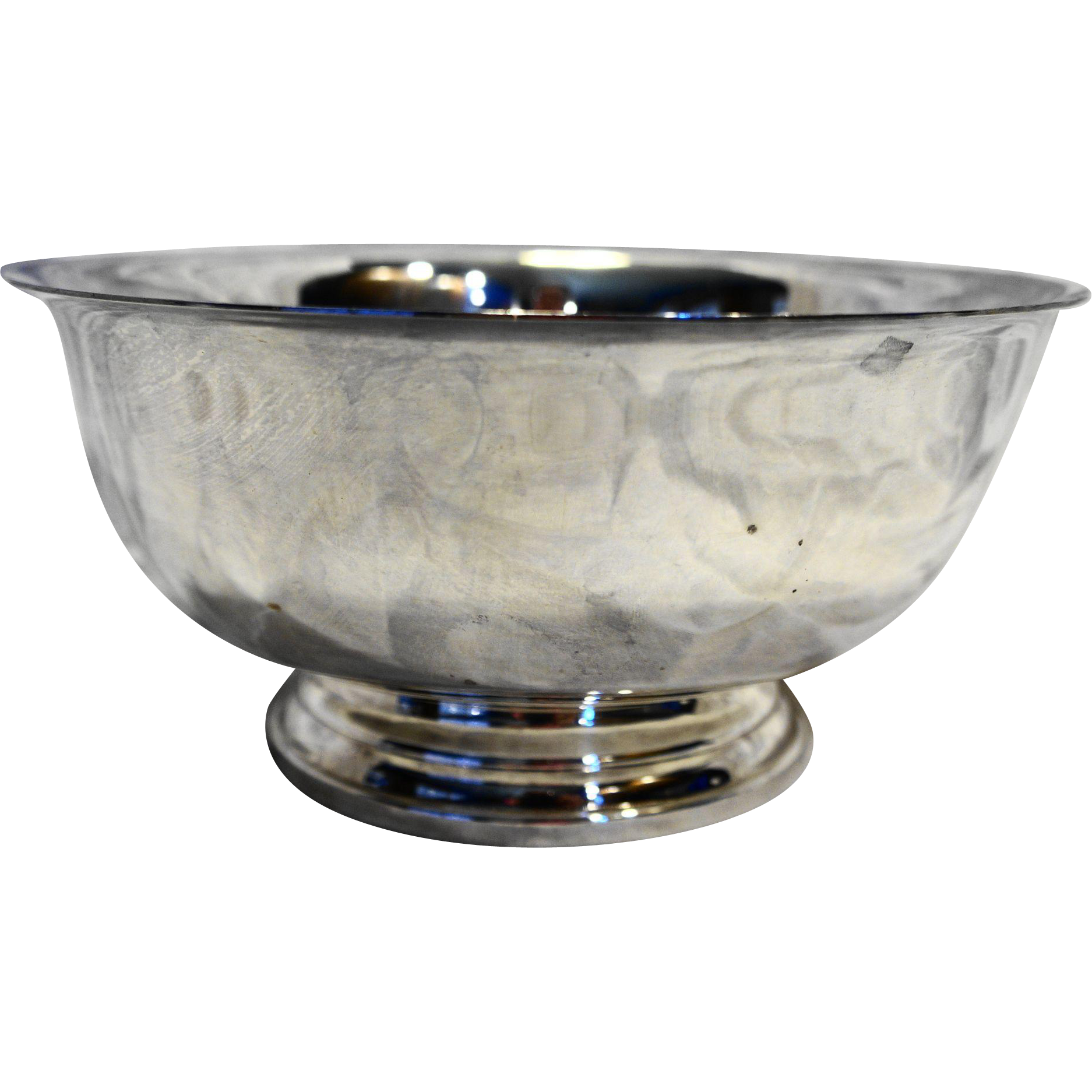 Gorham Silver Plate Revere Bowl 8 IN YC780