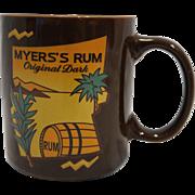 Myers's Rum Original Dark Brown Coffee Mug Promotional Advertising
