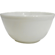Pyrex White Opal Milk Glass 402 Mixing Bowl
