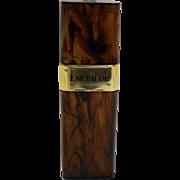 Emeraude Coty Parfum de Toilette Tortoise Spray 2 Oz 1970s
