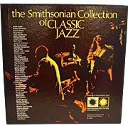The Smithsonian Collection of Classic Jazz 6 Vinyl LPs Boxed Set