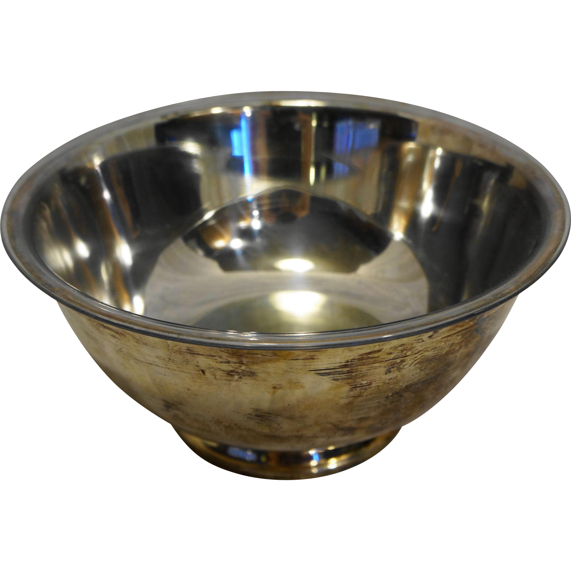 Oneida Silverplate Revere Bowl 10 IN With Liner