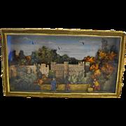 Narcissa Thorne Ward Miniature Box Diorama English Castle People