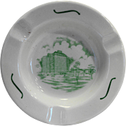 Shamrock Hotel Houston Texas Iroquois China Ashtray