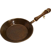 Miniature Hammered Copper Decorative Small Pan Skillet