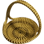 Sweetgrass Sweet Grass Hand Made Woven Basket South Carolina Folk Art