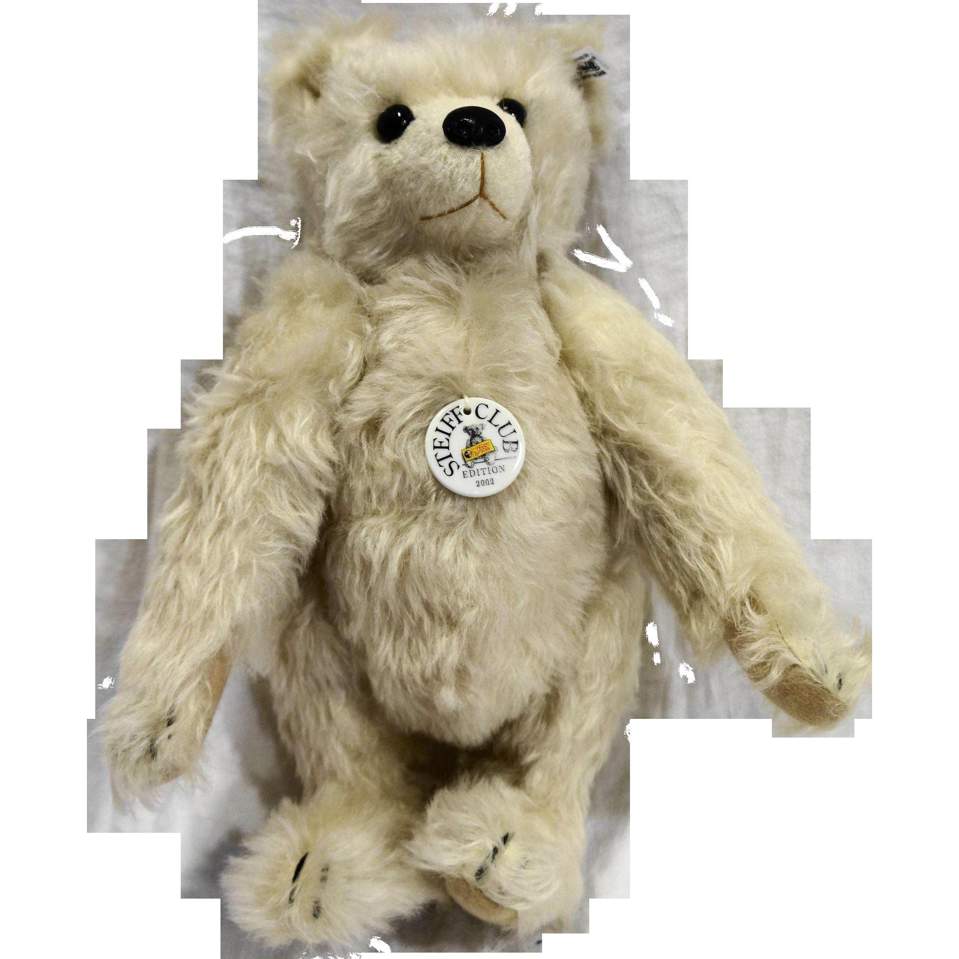 Steiff Teddy Bear 28 PB Club Edition EAN 420290 2002/2003 MIB New