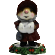 Wee Forest Folk M 146 Miss Noel Dark Red 1987 Annette Petersen
