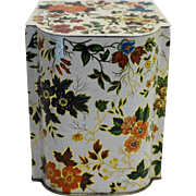 Daher Chintz Floral Biscuit Tea Tin Made in England