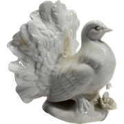 Lenwile Ardalt Japan Verithin White Porcelain Fine China Turkey Figurine