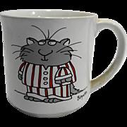 Sandra Boynton Cats Pajamas Coffee Mug Vintage