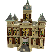 Department 56 Snow Village County Courthouse
