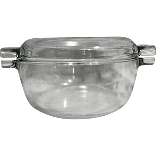 Pyrex de Corning Clear Casserole Domed Lid Made in France
