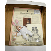 Lawton Doll 1997 Collectors Guild Membership Kit Baby Bunny Somebunny Special