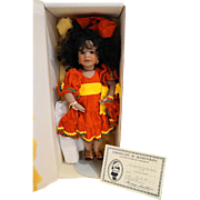 Lawton Doll Legend of the Poinsettia Mexico NIB MIB Ltd Ed 742/750 1992