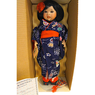Lawton Doll Girls Day Japan Eiko NIB MIB Ltd Ed 23/500 1990