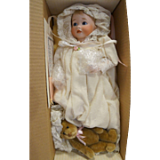 Lawton Doll Baby Victoria and Teddy NIB MIB Ltd Ed 308/500 1989 Playthings Past