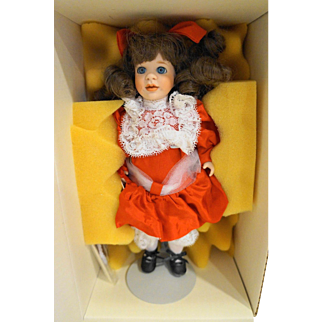 Lawton Doll Let Me Call You Sweetheart NIB MIB Ltd Ed 204/250 1994 Memories