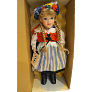 Lawton Doll Midsommar Sweden NIB MIB Ltd Ed 24/500 1990 Cherished Customs