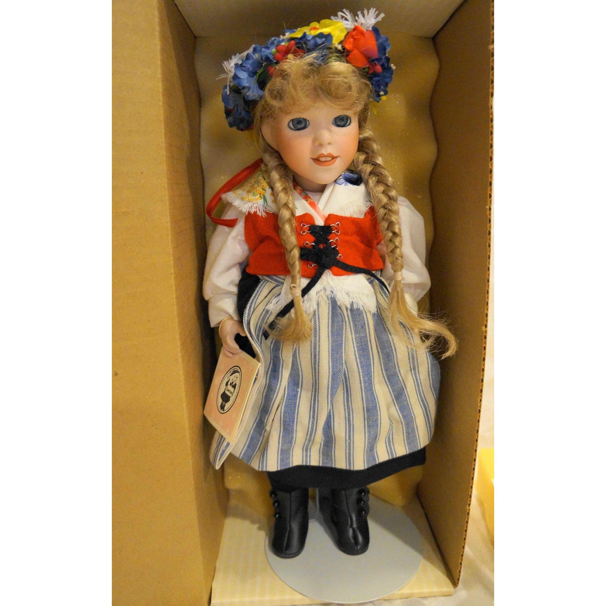 Lawton Doll Midsommar Sweden NIB MIB Ltd Ed 24/500 1990 Cherished Customs