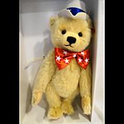 Steiff First American Teddy EAN 667183 MIB NIB Ltd Ed 4208 Mohair 15 IN 38 CM