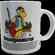 Grandpasaurus Vintage Coffee Mug Made in Korea