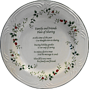 Pfaltzgraff Winterberry Family Friends Sharing Plate 12 IN