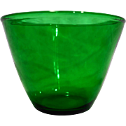 Forest Green Fire King Splash Proof 5 IN Mixing Bowl Grease Jar Ice Bucket