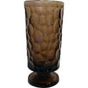 Fostoria Pebble Beach Brown Footed Water Tumbler 6 IN