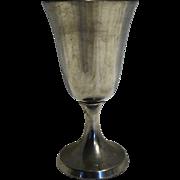 Stieff Pewter Water Goblet P 105