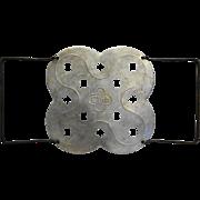 Club Aluminum Clover Trivet Roaster Dutch Oven Insert