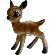 1950s Deer Fawn Single Shaker Porcelain
