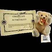 Steiff Teddile Toy Store Exclusive Apricot Teddy Ltd Ed EAN 011979 19 CM 1992
