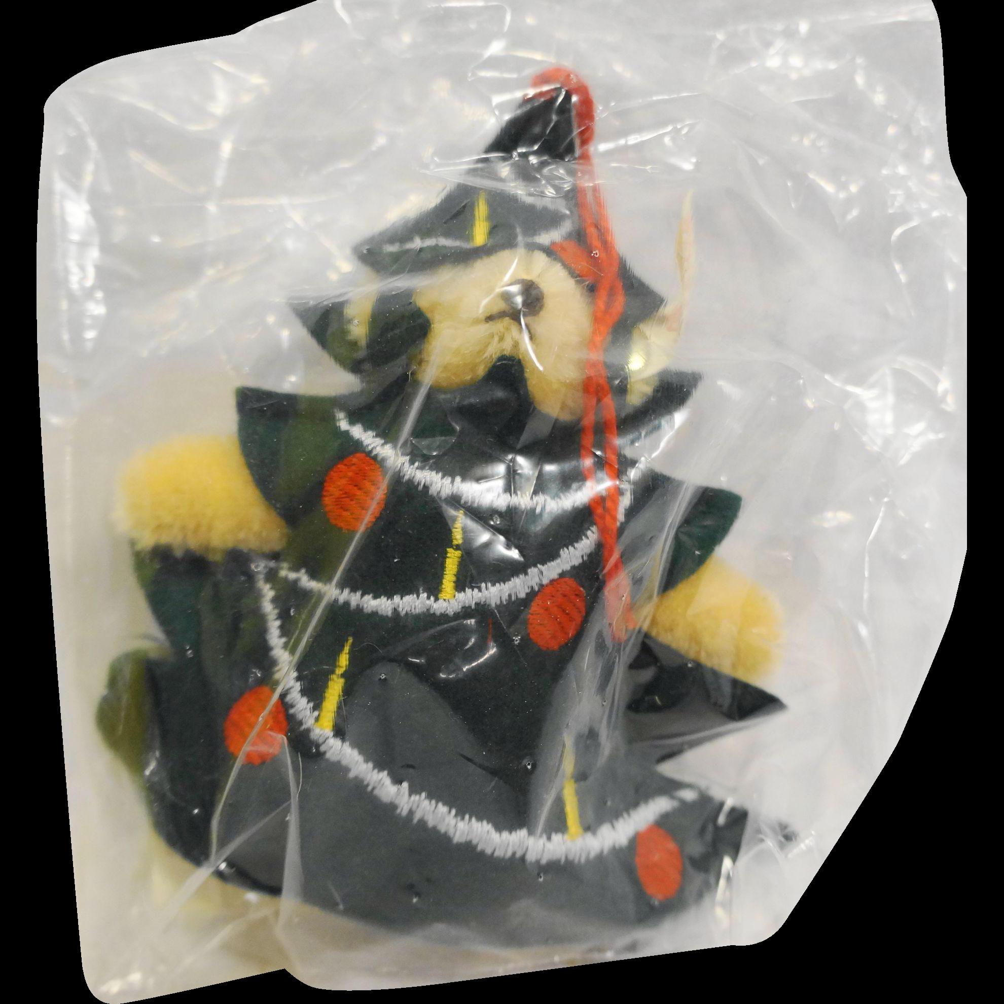 Steiff Evergreen Ornament Teddy Christmas Tree EAN 665417 12 CM 1997 Limited Edition 4000