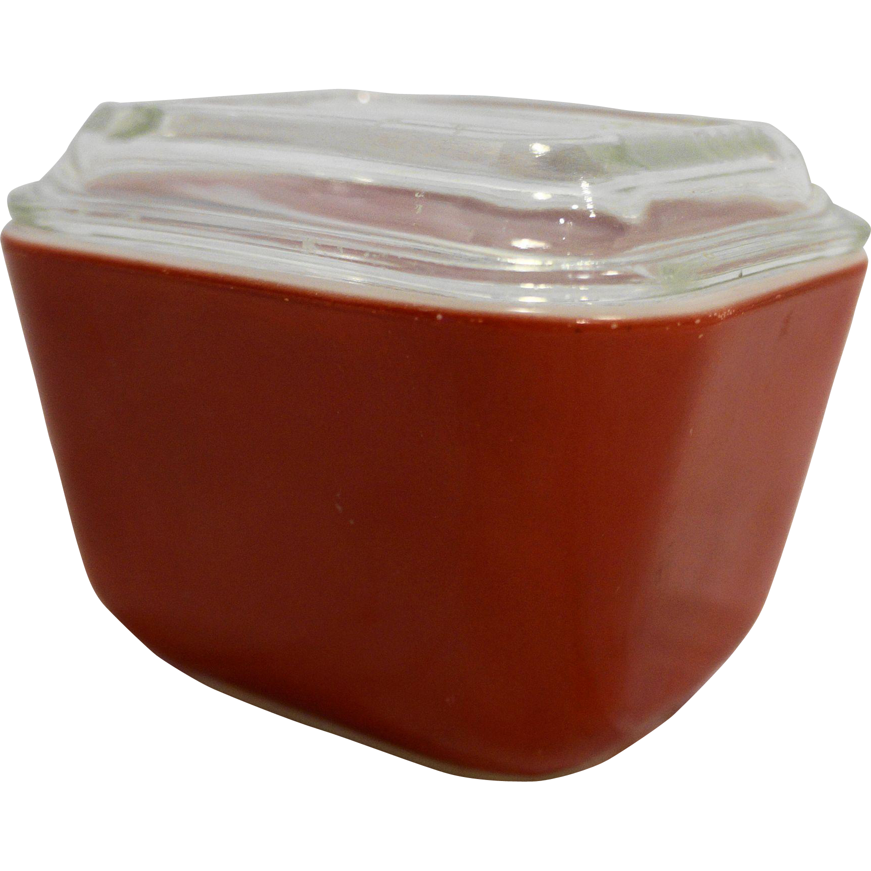 Pyrex Primary Red Small Refrigerator Dish With Lid 501