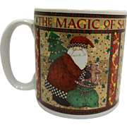 Debbie Mumm The Magic of Santa Sakura Mug