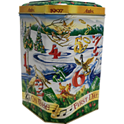 Andes Mints Twelve Days of Christmas Tin 1997
