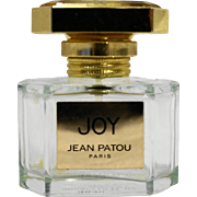 Joy Jean Patou Empty Perfume Bottle Eau de Toilette 30ml 1 OZ