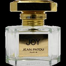 Joy Jean Patou Empty Perfume Bottle Eau de Toilette 30ml 1 OZ