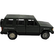 Isuzu Trooper Green Diecast 1:43 Scale Made in Japan Model Toy Car
