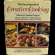 Encyclopedia of Creative Cooking Charlotte Turgeon 1985 Edition