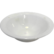 Pyrex Tableware by Corning White Opal Glass Serving Salad Bowl 8 3/4 IN