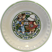 Watkins Country Kids Pie Plate 3/5 1989
