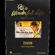 It's A Wonderful Life Movie Script Paperback 1994 Premiere Movie Magazine