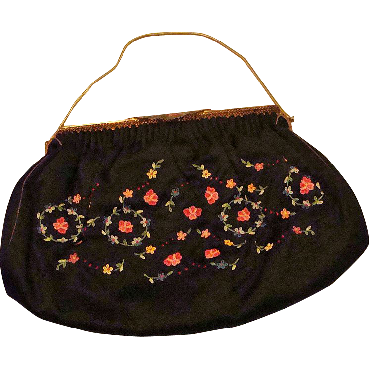 *1920's: Michel Swiss Paris Designer Purse