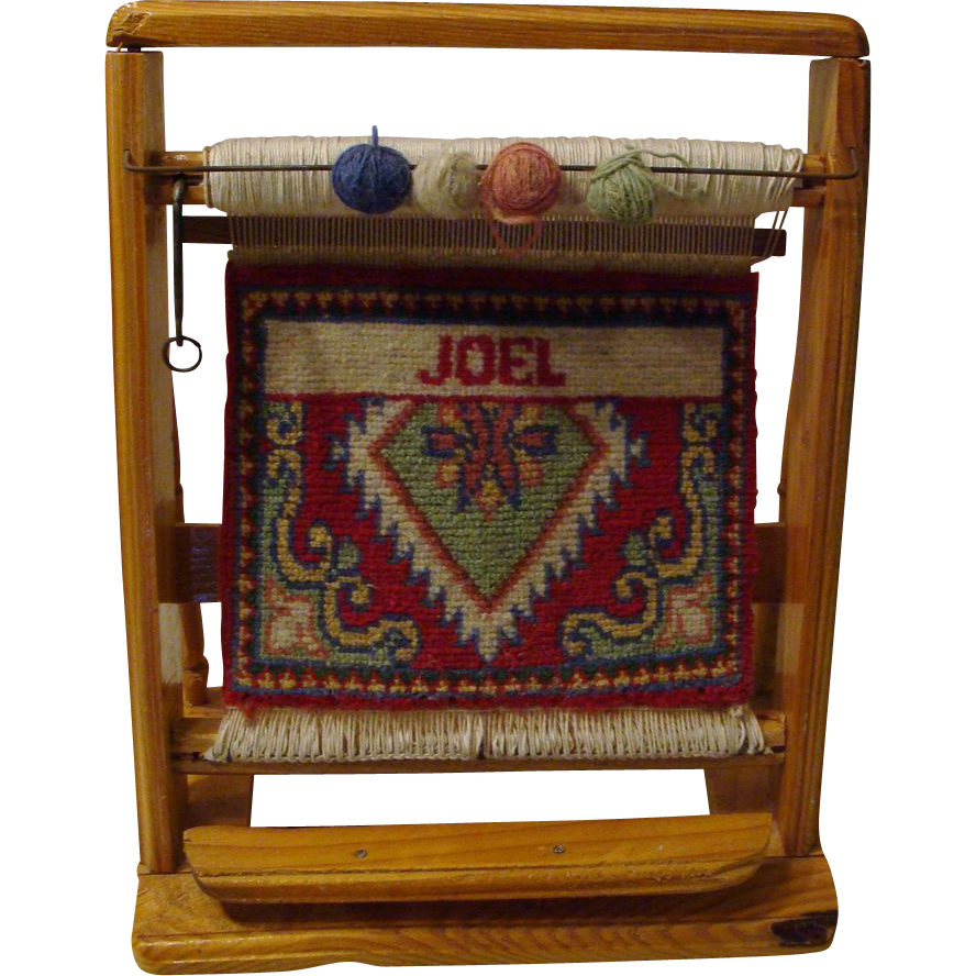 "**1920's: Persian Rug Loom "" Salesman's Sample """
