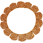 *Early Elegant D'Orlan Couture Collar Necklace